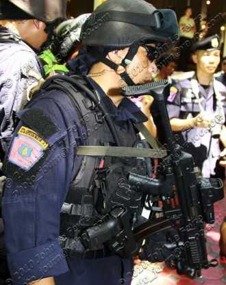 Thai police Swat officer - locally known as Arintirat 26