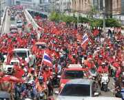 Jatuporn Prompan was largely responsible for the landslide victory of the Phue Thai Party in the 2011 Thailand general election by coordinating the various red-shirt groups