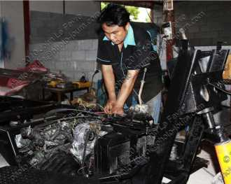 Industry contributes about 44% of Thailand GDP but employs only about 14% of the workforce