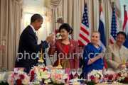 US President Barack Obama and Thailand Prime Minister Yingluck Shinawatra - the Americans went away relatively empty handed