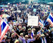 Thailand anti-government, anti-democracy protests Nov 25, 2013