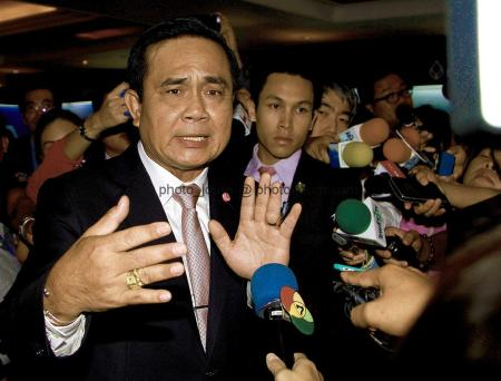 "Thailand Prime Minister General Prayut Chan-o-cha - ""There's no problem. I can clarify everything. I have been doing this on behalf [of spokespersons] every day anyhow."""