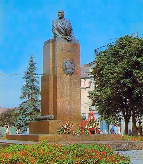 Пам'ятник Леніну у Львові