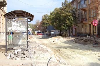 У Львові ремонтують вул. Куліша