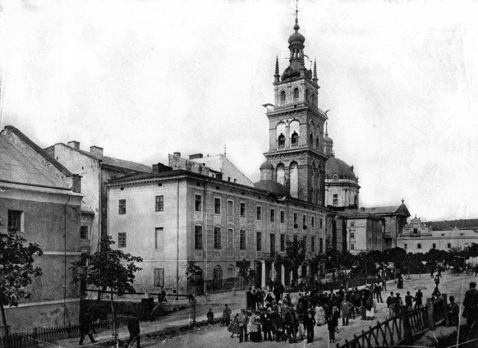 Вулиця Підвальна у Львові на початку ХХ століття