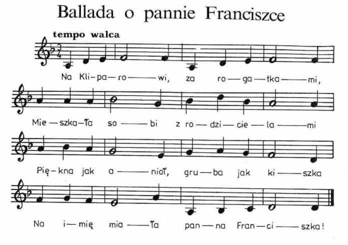 Ballada o pannie Franciszce