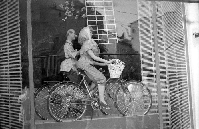 Львів, вітрина магазину, 1964 рік