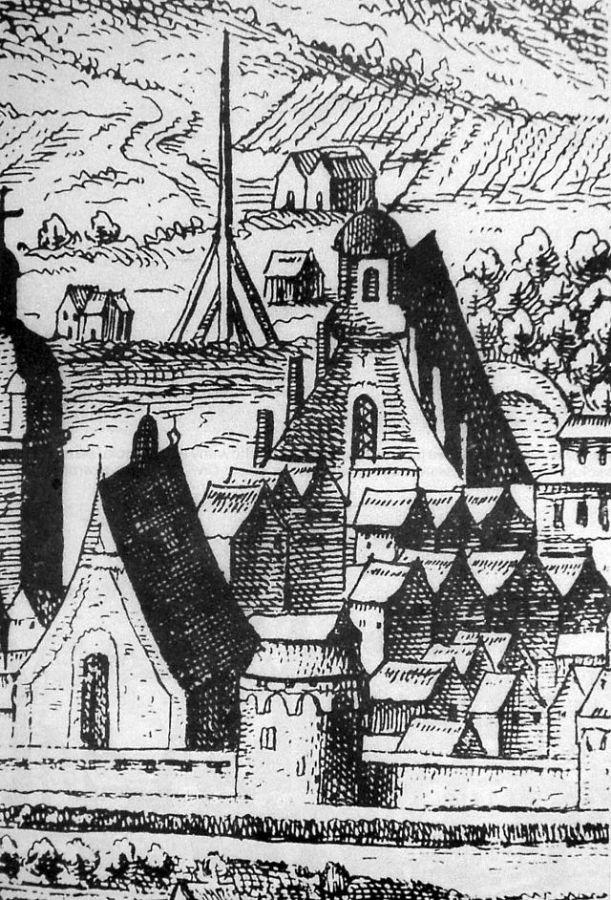 Костел Святого Хреста і монастир францисканців