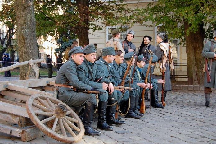У Львові відтворили бій за Львів 1918 року між українцями та поляками