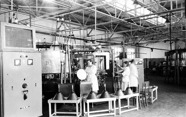 Львівський завод «Кінескоп», фото 1954 року