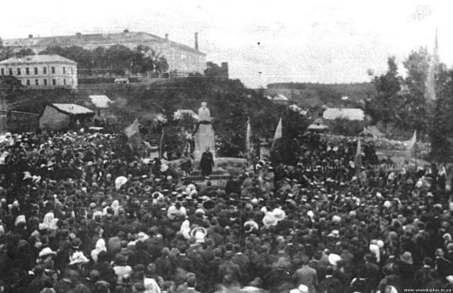 Відкриття пам'ятника Шевченку, 1913