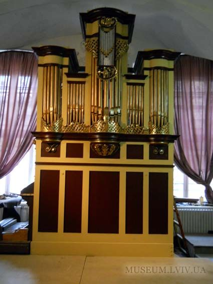 Орган із костелу святого Мартина