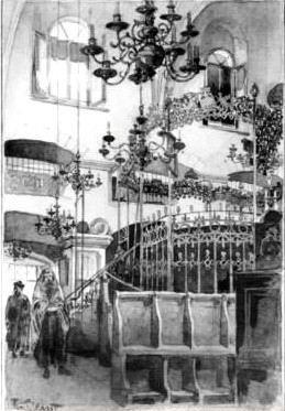 Акварель Рудольфа Бернта (1890)