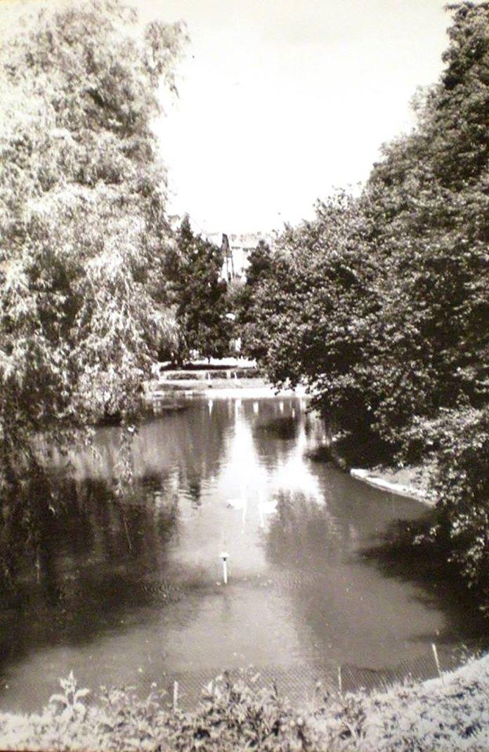 Стрийський парк у Львові, фото 70-ті роки XX століття