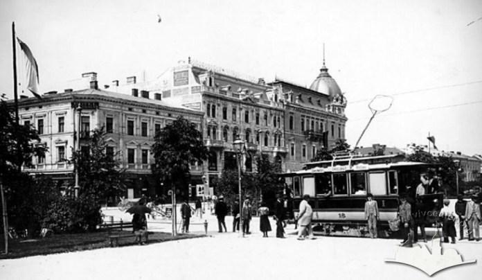Ріг вулиці Гетьманської та Кілінського, початок ХХ ст.