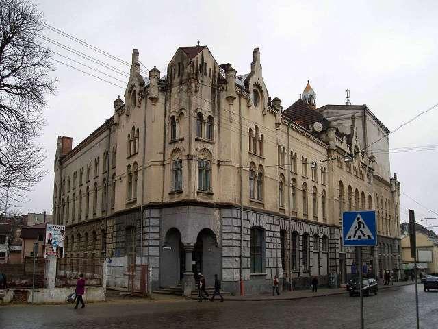 Будівля Католицького дому на вул. Городоцька,36. Фото наших днів