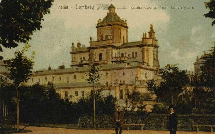 Святиня на поштівці бл. 1900 року