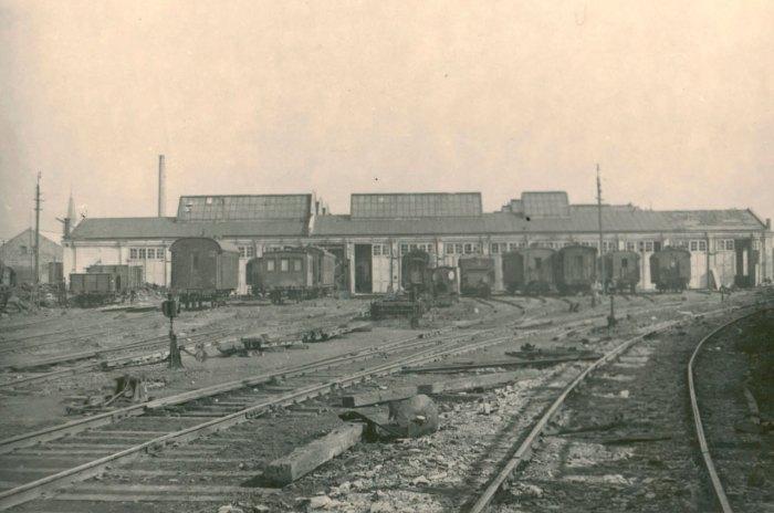 Майстерні підприємства, фото поч. ХХ століття