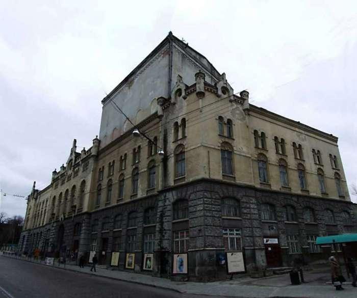 Львівський муніципальний театр ім. Лесі Українки, у будівлі Католицького дому. Фото 2012 року