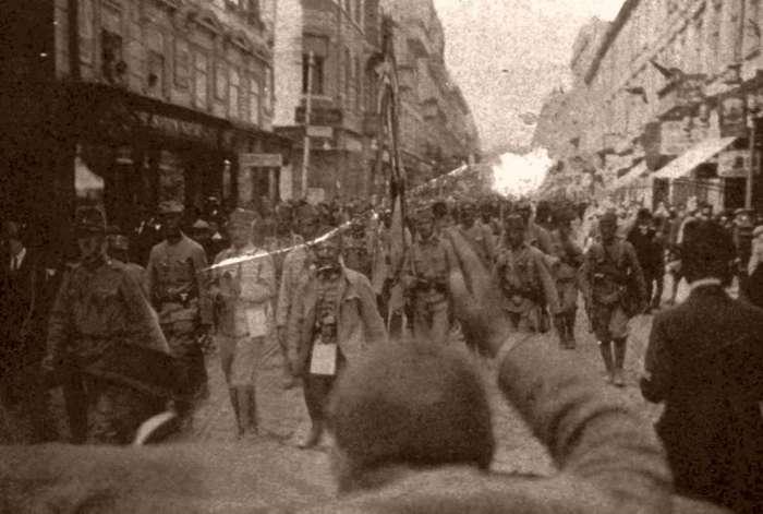 Боснійці у складі армії Е.Бем - Ермолі на нин вул. Дорошенка, червень 1915 р.
