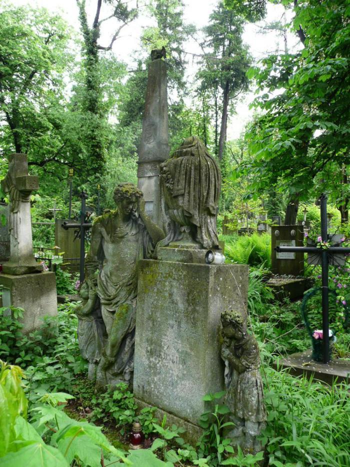 Пам'ятник на на могилі Амелії Ґолебської з Шиців (поле №10 на Личаківському цвинтарі)