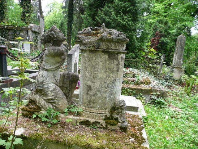 Пам'ятник на могилі Антонія Едмунда Кріґсгабера (поле №9 на Личаківському цвинтарі)