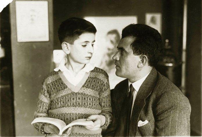 Александр Гранах з сином Гадом