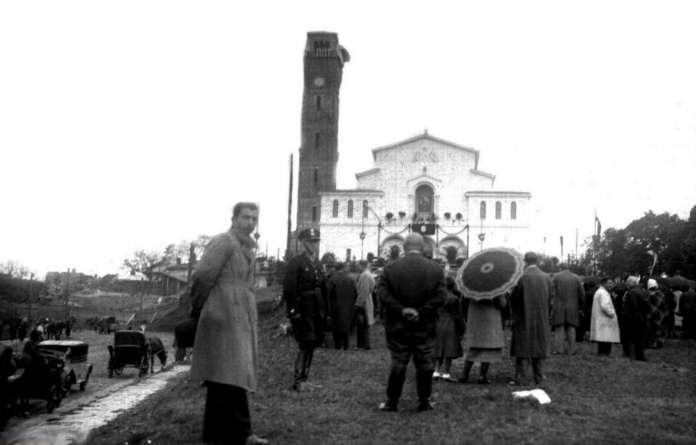 Освяченя новозведеного костелу Матері Божої Остробрамської, 1938 рік