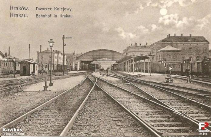 Залізнична станція в Кракові