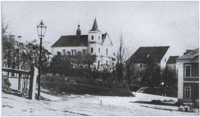 Костел кармелітів, фото ймов. Юзефа Едера, бл. 1860 - 1870 рр.