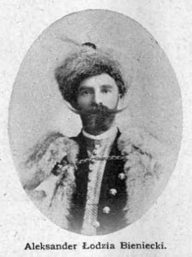 Александер Бенецький - власник однієї з найкращих цукерень Львова, 1902 рік