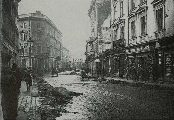Вул. Ягеллонська ( нині Гнатюка ), листопад 1918 року