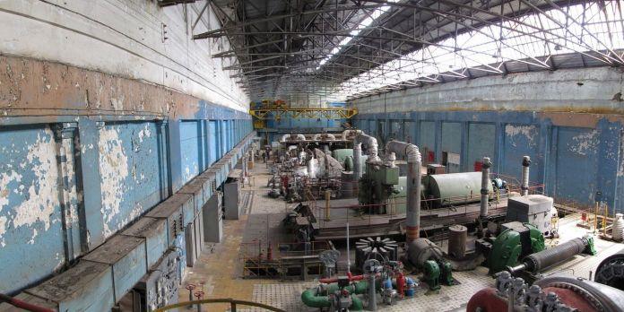 Електростанція на Персенківці, турбінний зал, сьогодення