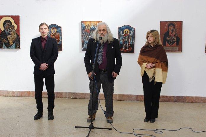 """Відкриття виставки Михайла Скопа """"Церква Войовнича"""", 17 березня 2015 року"""