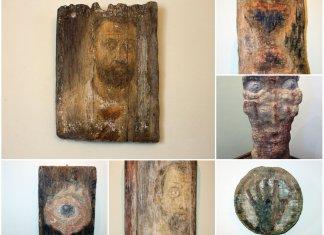Виставка робіт Олега Лишеги відкрилась в палаці Баворовських