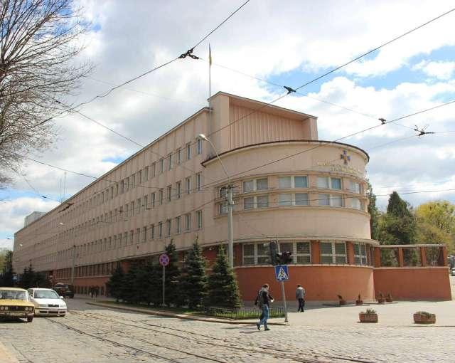 Будівля MZE міста Львова, нині - обласне СБУ. Фото 2015 року