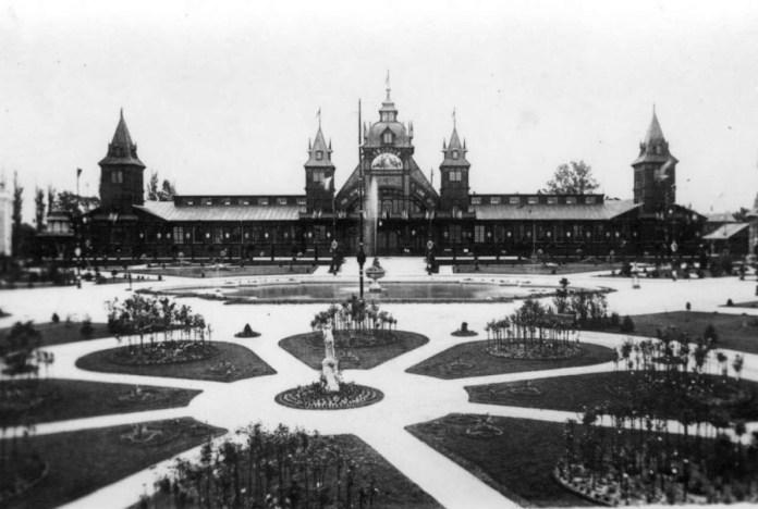 Павільйон промисловості на виставці Крайовій. Фото 1894 року