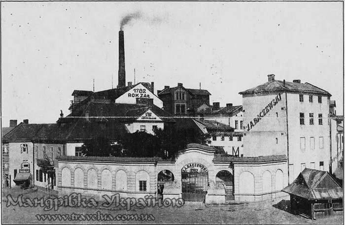 Вид на фабрику Бачевського.