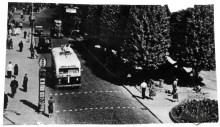 Тролейбус на пр-ті Шевченка, фото, 1955-1964 роки.
