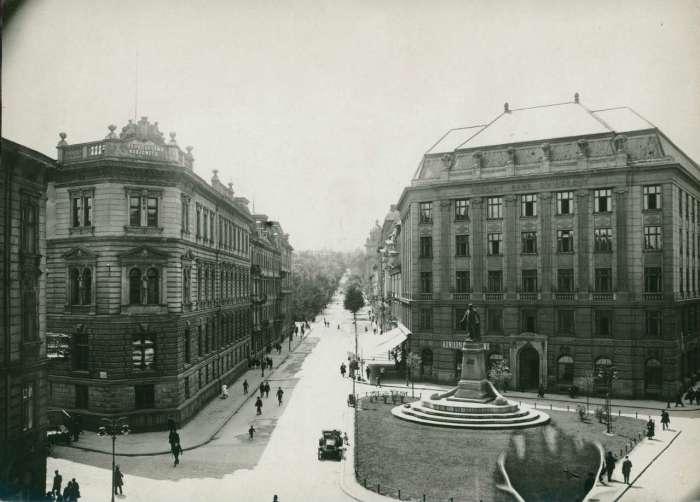 Площа Смольки на фото Марека Мюнца, 1925 рік