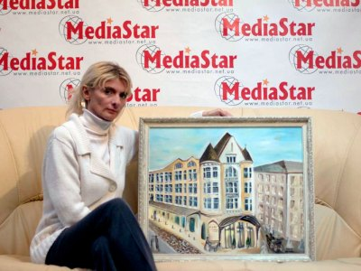Зоряна Ілєнко – художниця, що малює пальцями