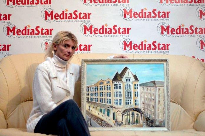 Зоряна Ілєнко - художниця, що малює пальцями
