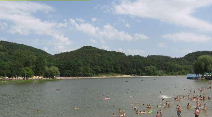 Винниківське озеро. Фото наших днів.
