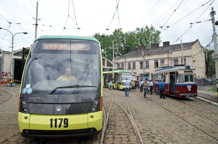 Дні відкритих дверей у трамвайному депо №1.
