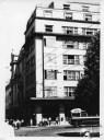 Тролейбус на пр-ті Шевченка біля Будинку профспілок, фото, 1963-1964 роки.