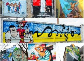 Галерея львівських графіті. Дев'ять кольорових закапелків міста