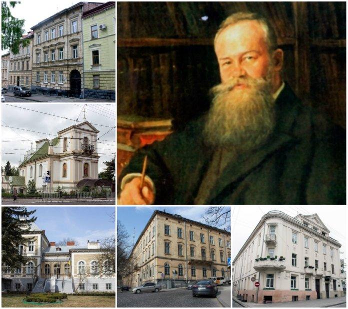 14 місць Михайла Грушевського у Львові