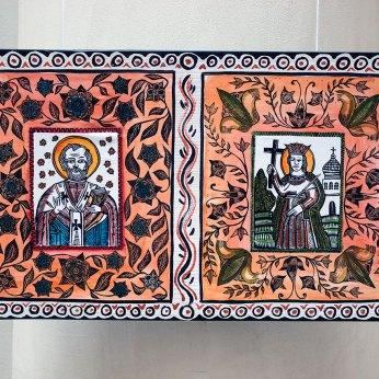 Експонати виставки в рамках українського проекту «Код нації — справжня єдність»