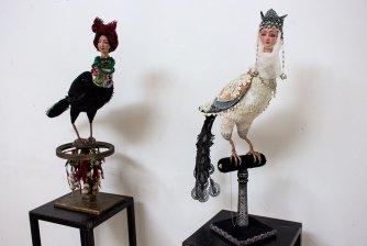 Експонати фестивалю «Ляльковий світ 2015» у Львові