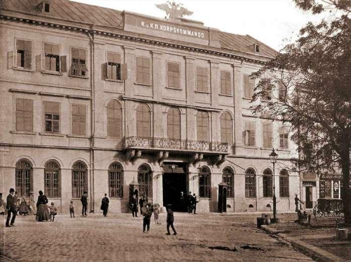 Генеральна команда військового керівництва Галичини. Фото 1904 року